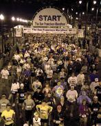 Masu starts SF maratonā