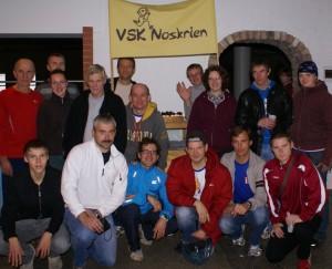 VSK Noskrien pusmaratonā Ozonieki 2009