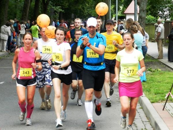 Ar baloniem Liepājas pusmaratonā