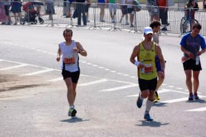 100m līdz finišam, vismaz kādu apsteidzu