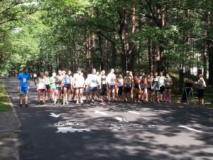 Startā esmu visgarākais, bet diez vai finišā būšu visātrākais (LSC 5km)