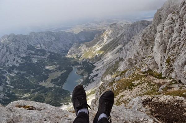 Vienā no Melnkalnes augstākajiem kalniem - Bobotov Kuk