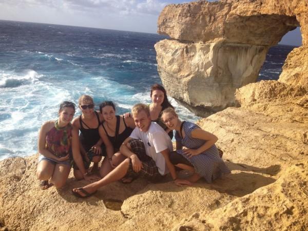 Azur Window Gozo salā Maltā