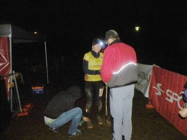 Siguldas kalnu maratona finišs