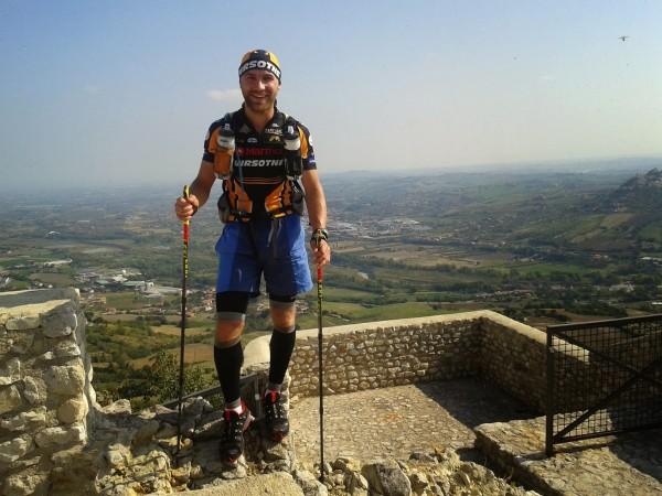 Itālija, Rimini province, Montebello virsotne, 21-mais kilometrs