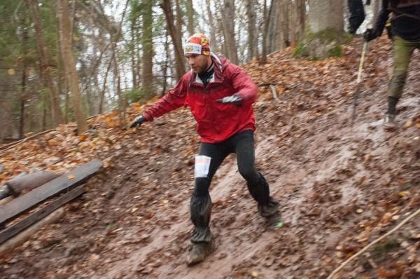 Siguldas kalnu maratons, tuvojoties finišam