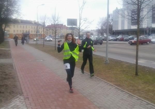 Skrējiensoļojuma Rīga - Valmiera finišs