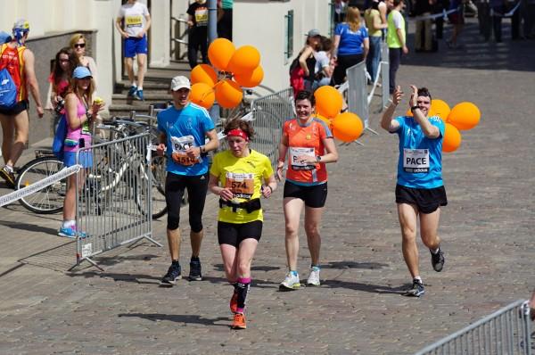 Nordea Rīgas maratons 2014. Tempa turēšana.