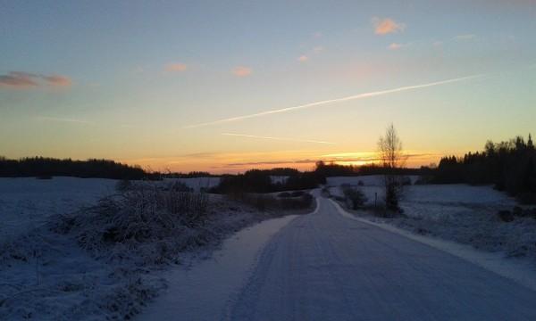Saullēkts Ziemassvētkos