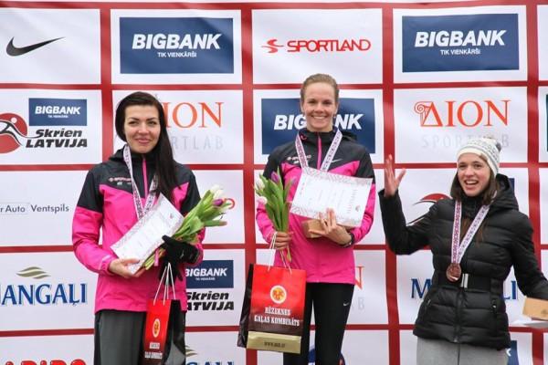 Pirmo reizi Latvijas čempiones 10 km godā. Rēzekne 2015