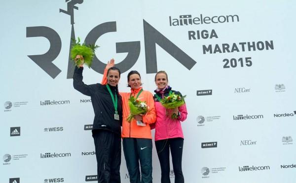 Lattelecom Rīgas maratona apbalvošana pusmaratona distancē