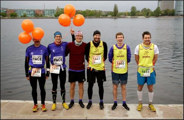 VSK Noskrien Rieksti pirms Lattelecom Rīgas maratona