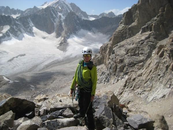 Ceļā uz virsotni Lāča Pils. Tadžikistāna