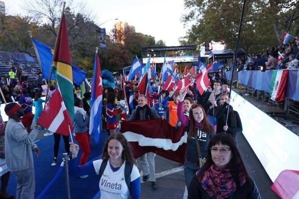 Nāciju parāde Centrālparkā. 31.oktobris
