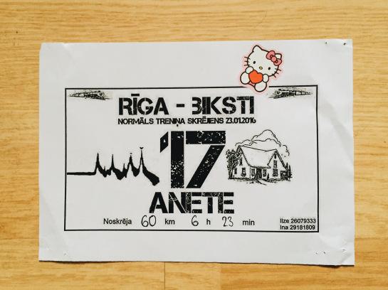 Kā jau rakstīts, pavisam normāls treniņa skrējiens 81km garumā. Pārstāvēju HelloKitty komandu