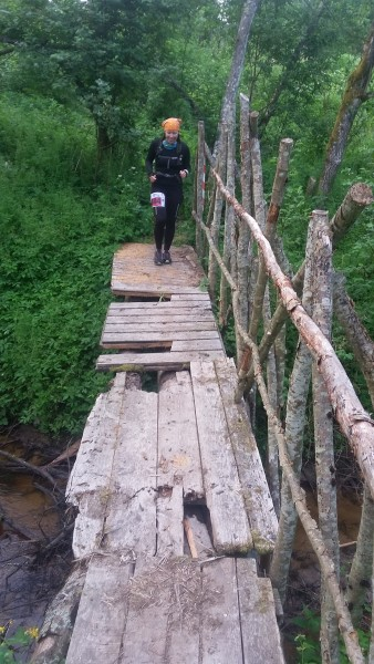 2.bilde. Foršais tiltiņš.