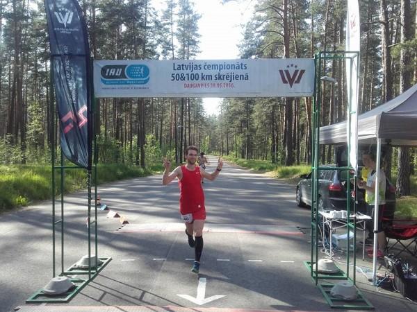 3.vieta LČ 100km. 2016.