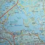 Rušons kartē