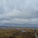 Taka un skatu tornis ezerā
