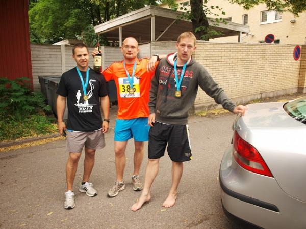 Trīs vīri un Džeimsona kungs. Paavo Nurmi maratons Somijā