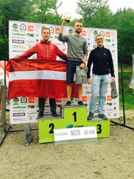 4:43:54 2. vieta grupā, 8. vieta kopvērtējumā, atstājot aiz sevis 108 poļus!