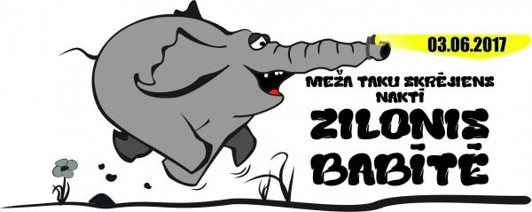 Zilonis Babite - Logo-2017
