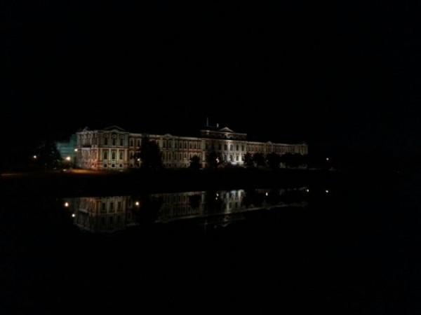 Jelgavas pils naktī