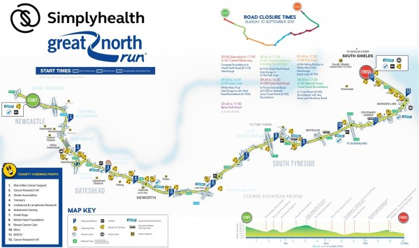GNR2015 Course Map