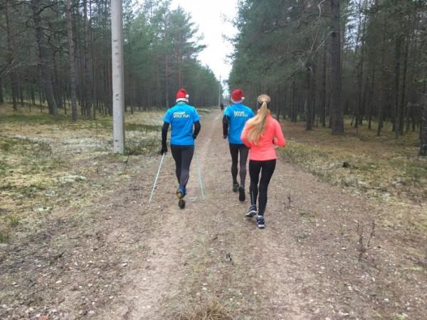 1 km trase Laulasmaa aizsargājamajā teritorijā