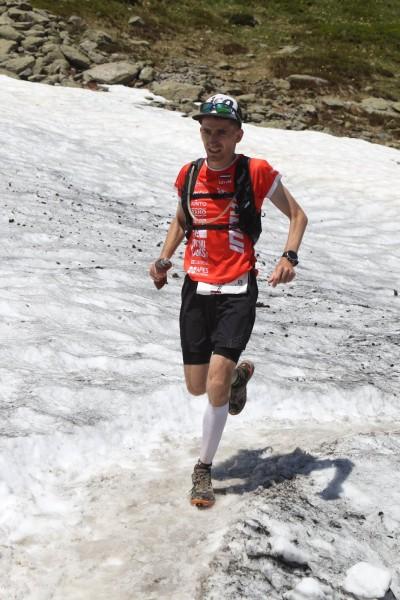 Vasarā skrienam arī pa sniegu Foto: Maindru photo