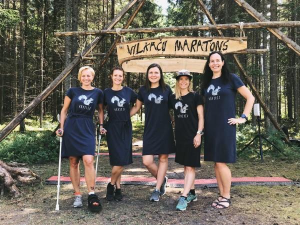 Ar skaistu zābaciņu un Vāverēm Vilkaču maratonā