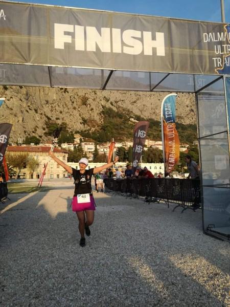 Priecīgais finišs Omišā