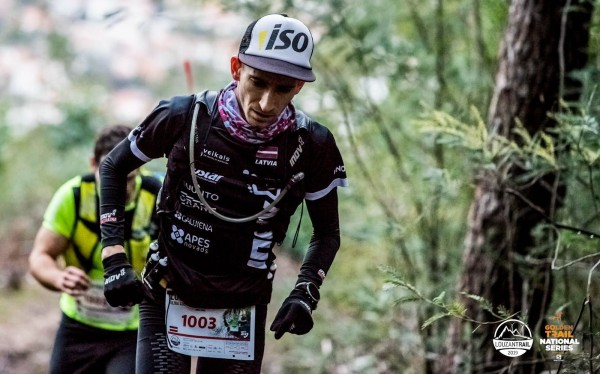 Distances laikā biju iekārtojies arī 4.v. Fonā Luiš Duarte. Foto: Matias Novo