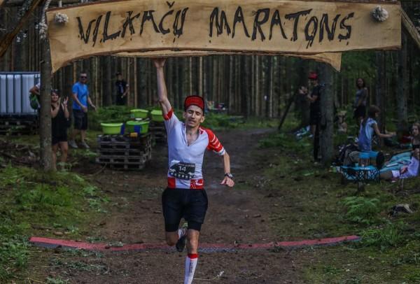 Finišs Vilkaču maratonā #dzimislairietu