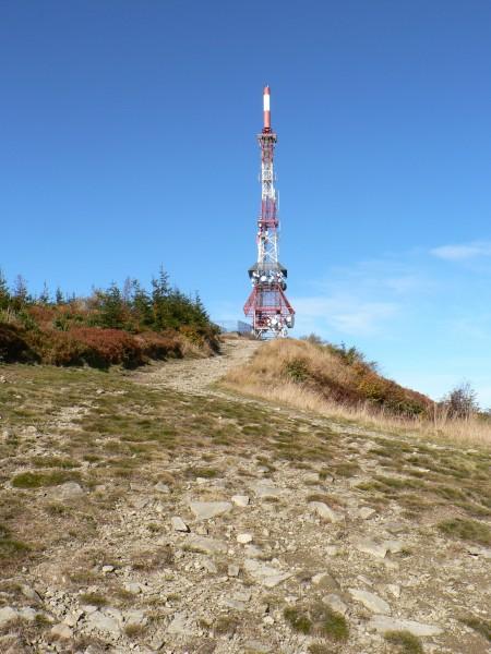 Skrzyczne TV tornis. Foto autors: wikipedia.